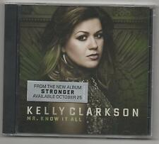 Kelly Clarkson Mr. Know it All CD 2011 Limited Edition