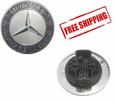 Mercedes Benz Standing Star Conversion to Flat Mount Hood Emblem - NEW OEM