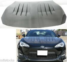 FULL CARBON FIBER HOOD WD STYLE FIT FOR SCION FR-S FRS & SUBARU BRZ
