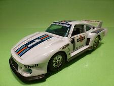 BBURAGO 0142 PORSCHE 935 TT - MARTINI RACING No 1 - 1:24 - RARE SELTEN - GOOD