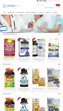 Vitamins & Supplements Store - Amazon Affiliate Website + Free Hosting