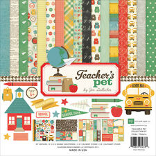 """Echo Park Collection Kit 12""""X12""""-Teacher's Pet"""