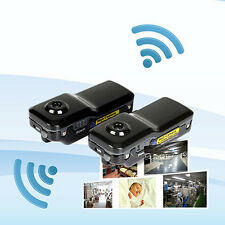 WIFI IP Wireless Spy Cam Mini Remote Surveillance DV Security Micro Camera MD81