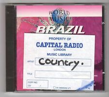 (GZ65) Various Artists, The World Of Music Brazil - 1995 CD
