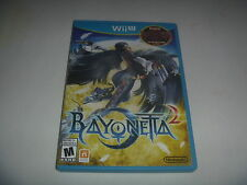 Bayonetta 1 & 2 (2014) Nintendo Wii U Complete Best Action Adventure WIIU Game