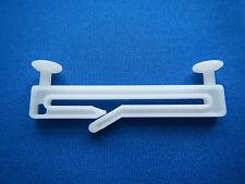 100 Stck Schlaufengleiter  f. 50mm Schlaufenvorhänge/Schlaufenschals m. Schlitz