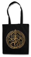SHIVA VINTAGE HIPSTER BAG - Stofftasche Stoffbeutel - Hinduismus Yoga Buddha OM