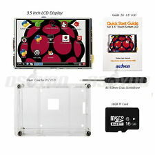 3.5 inch LCD Touch Screen Display Kit w/ Case+16GB TF Card for Raspberry Pi 2 3