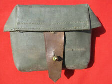 WWII Russian SVT 38/40 Green Artifficial Leather Pouch. RARE!