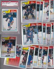1983 - 84 OPC Team SET Lot of 21 NY ISLANDERS NM+ o-pee-chee PSA TROTTIER BOSSY