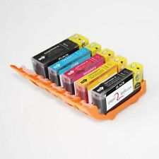 Multipack of 5 x PGI-220 / CLI-221 Refillable Edible Ink Cartridges Canon MX870