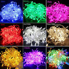10M/20M 100/200LED Xmas Fairy String Light Bulbs Party Tree Christmas Decor Lamp