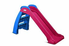 Toddler Kids LITTLE TIKES First Indoor Outdoor Folding Plastic FUN Slide,