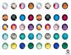 Swarovski Base piatta Cristalli 2058 Non Fissaggio A Caldo ss20 Metallizzato
