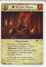 3 x The Iron Throne AGoT LCG Game of Thrones Lions of the Rock 31
