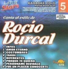 NEW - Karaoke: Rocio Durcal 1 - Latin Stars Karaoke by Durcal, Rocio