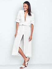 Gap M Nwt White Maxi Shirtdress 8 10 M