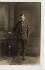 Picture postcard of a soldier in the Royal Scots (C13916)