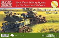 PLASTIC SOLDIER COMPANY 72nd Allied Stuart M5A1 Tank