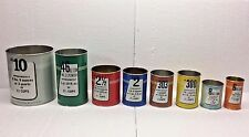 Vintage American Can Company Canco Tin Cans Salesman Sample Advertising Factory