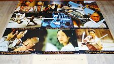 TIGRE ET DRAGON  Michelle Yeoh jeu photos cinema lobby cards fantastique kung-fu