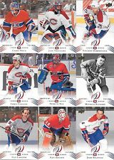 U PICK EM LOT 2008-09 Montreal Canadiens Centennial cards Any 10 for $1 SEE LIST