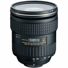 Tokina 24-70mm F/2.8 AT-X Pro FX Lens for Canon EOS. U.S. Authorized Dealer