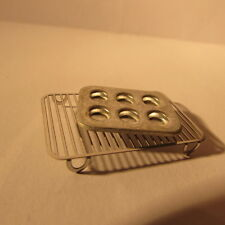 Dolls house Miniatures~Kitchen cake rack with muffin tray~ 1/12 scale~