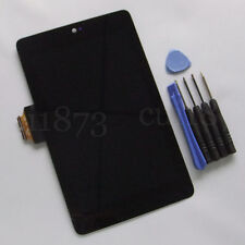 10 PCS LCD Display Screen Touch digitizer glass Assembly For ASUS Google Nexus 7