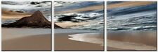 3 Panel Total Size 120x40cm Large Canvas Wall Digital Art Print STORMY
