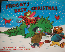 FROGGY'S Best Christmas (Brand New Paperback) Jonathan London