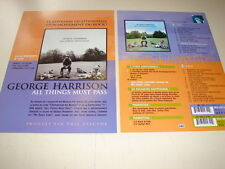 GEORGE HARRISON ALL THINGS!!!!!!!!RARE FRENCH PRESS/KIT