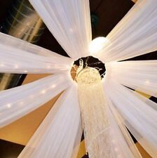 "28"" Aluminum Ceiling Draping CENTER HOOP Ring for Wedding & Event Decor"
