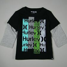 HURLEY NWT Baby Boy Long Sleeve T-Shirt Top Size 12 Months