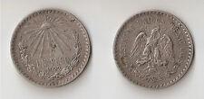 Mexico 1 peso  1922  High grade!