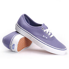 VANS Authentic Heron/True White Purple Skate Casual MEN'S 8 WOMEN'S 9.5