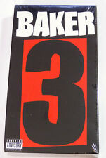 Baker 3 (VHS, 2005) Rare Skate Video Deathwish Skateboards Reynolds