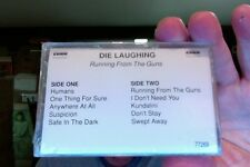 Die Laughing- Running From the Guns- promo- new/sealed cassette tape