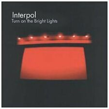 Interpol Turn on the bright lights (2002) [CD]