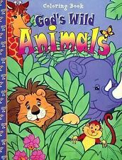 God's Wild Animals (16-Page Coloring Books)