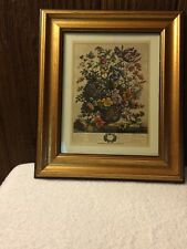 Vintage Print by Franklin Picture Co.  #6736 13 1/2 X 11 1/2 Framed In Gold