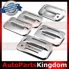 04-14 Ford F150 Chrome 4 Door Handle+keypad+no Passenger keyhole+Tailgate Cover