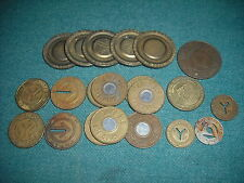 VINTAGE TRANSORT AUTHORITY TOKENS / COINS     FREE SHIP