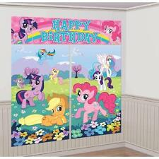 My Little Pony Scene Setter Birthday Party Giant Wall Banner Decoration Backdrop