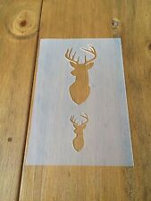 Stag Deer Head 7 Mylar Reusable Stencil Airbrush Painting Art Craft DIY Home
