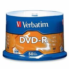 Verbatim 4.7 GB up to 16x Branded Recordable Disc AZO DVD-R 50-Disc Spindle