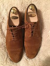 Edward Green Suede Cardiff Shoes 10.5/11D 202 $1300
