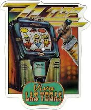 ZZ TOP - VIVA LAS VEGAS Limited Edition Shaped Picture Pic Disc + backing card