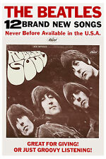 The Beatles * Rubber Soul * Promotional Poster 1965 Promo Poster LARGE 24x36