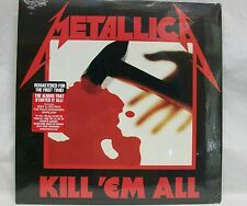 "NEW & Sealed! Metallica ""Kill 'Em All"" LP Vinyl Record w/Free Ship, Cliff Burton"